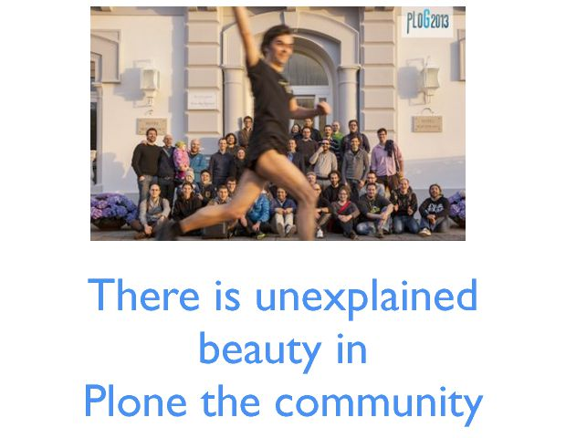 There is unexplained beauty in Plone the community