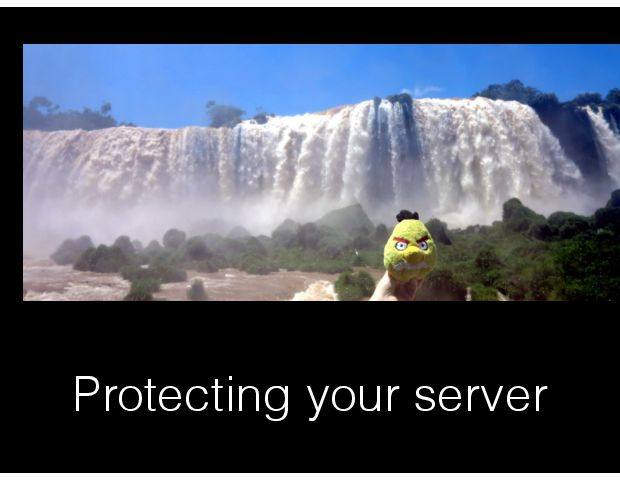 Protecting your server
