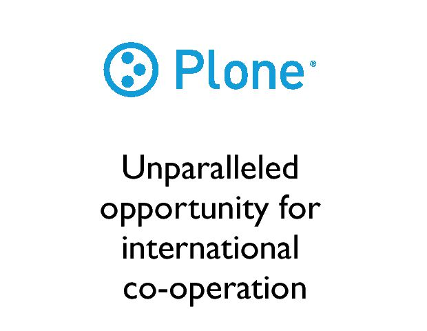 Unparalleled opportunity for international  co-operation