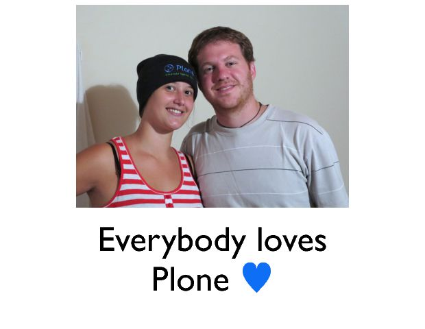 Everybody loves Plone