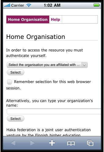 Improving mobile site form usability with HTML5 (Mobilizing