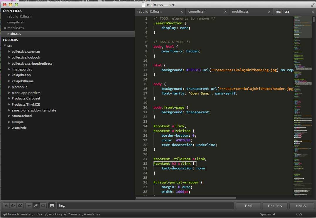 Sublime Text 2 tips for Python and web developers