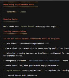 Restructured Text syntax highlighting in Sublime Text